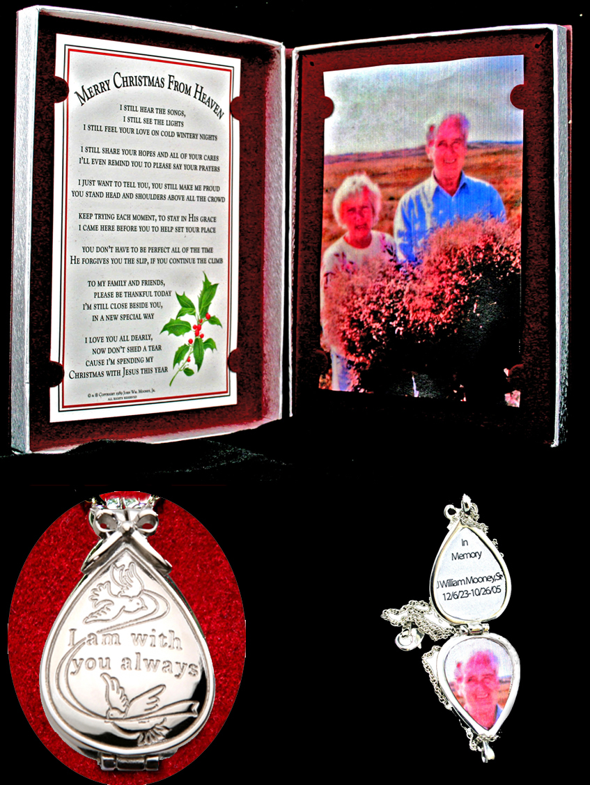our keepsake locket and
